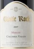 石堡梅洛干红葡萄酒(Castle Rock Winery Merlot,Columbia Valley,USA)