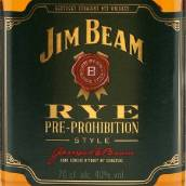 占边黑麦禁酒前风格肯塔基纯黑麦威士忌(Jim Beam Rye Pre-Prohibition Style Kentucky Straight Rye ...)