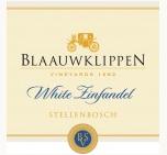 蓝岩葡萄园精选白仙粉黛白葡萄酒(Blaauwklippen Vineyards White Zinfandel, Stellenbosch, South Africa)