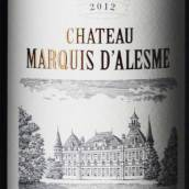 碧加侯爵酒庄红葡萄酒(Chateau Marquis d'Alesme Becker,Margaux,France)