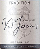 瓦尔约尼斯城堡传统干白葡萄酒(Chateau Val Joanis Tradition Blanc,Cotes du Luberon,France)