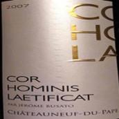 胡吉科欧米尼来提菲卡干红葡萄酒(Maison Rouge Cor Hominis Laetificat,Châteauneuf du Pape,...)