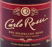 卡洛罗西红起泡酒(Carlo Rossi Red Sparkling, USA)