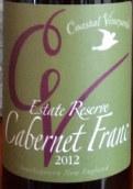海滨酒庄庄园品丽珠干红葡萄酒(Coastal Vineyards Estate Cabernet Franc,Massachusetts,USA)