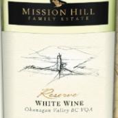 传教山珍藏混酿白葡萄酒(Mission Hill Family Estate Reserve White Wine,Okanagan ...)