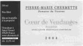 Pierre-Marie Chermette Domaine du Vissoux Coeur de Vendanges...