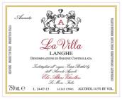 伊林奥特酒庄薇拉园朗格干红葡萄酒(Elio Altare La Villa Rosso Langhe DOC, Piedmont, Italy)