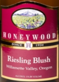 蜂蜜木酒庄雷司令桃红葡萄酒(Honeywood Winery Riesling Blush,Oregon,USA)