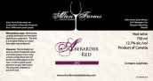 奥尔顿阿波腊干红葡萄酒(Alton Farms Estate Winery Abererarder Red,Ontario,Canada)