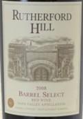 卢瑟福山木桶精选干红葡萄酒(Rutherford Hill Barrel Select,Napa Valley,USA)
