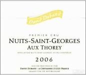 大卫杜邦酒庄奥克斯托雷(夜圣乔治一级园)干红葡萄酒(Domaine David Duband Aux Thorey,Nuits-Saint-Georges Premier ...)
