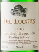 露森酒庄艾登纳天阶园雷司令迟摘白葡萄酒(Dr. Loosen Erdener Treppchen Riesling Spatlese, Mosel, Germany)