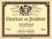 路易亚都朱丽娜庄园红葡萄酒(Louis Jadot Julienas Chateau Julienas,Beaujolais,France)