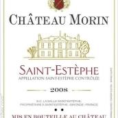 莫兰酒庄波尔多混酿干红葡萄酒(Chateau Morin,Saint-Estephe,France)