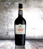 飞鸟园40年茶色波特酒(Quinta do Noval 40 Year Old Tawny Port,Portugal)