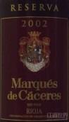卡塞里侯爵珍藏干红葡萄酒(Marques de Caceres Reserva, Rioja DOCa, Spain)