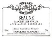 奇梦阿沃斯园干红葡萄酒(Domaine Mongeard Mugneret Les Avaux, Beaune Premier Cru, France)