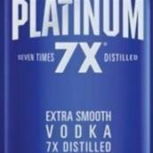 白金七次蒸馏伏特加(Platinum 7X Distilled Vodka,Kentucky,USA)