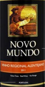 新大陆阿连特茹红葡萄酒(Novo Mundo Vinho Regional Alentejano, Portugal)