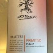 圣玛泽诺伊特拉图丽普里米蒂沃干红葡萄酒(Feudi di San Marzano I Tratturi Primitivo,Salento,Italy)