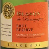 勃艮第布莱森勃艮第极干型珍藏起泡酒(Blason de Bourgogne Cremant de Bourgogne Brut Reserve,...)