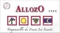 阿亚索富安帝园丹魄干红葡萄酒(Bodegas Centro Espanolas Allozo Tempranillo de Finca la ...)