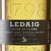 托伯莫里莱德艾格泥煤型10年苏格兰单一麦芽威士忌(Tobermory Ledaig Wonderfully Peated Aged 10 Years Single ...)