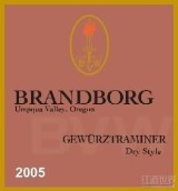 布兰伯格滩地琼瑶浆干白葡萄酒(Brandborg Bench Lands Gewurztraminer,Umpqua Valley,USA)