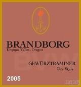 布兰伯格滩地琼瑶浆干白葡萄酒(Brandborg Bench Lands Gewurztraminer, Umpqua Valley, USA)