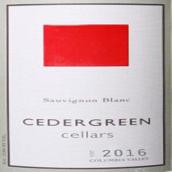 赛德格林酒庄长相思干白葡萄酒(Cedergreen Cellars Sauvignon Blanc,Columbia Valley,USA)