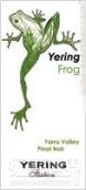 优伶青蛙先生黑皮诺干红葡萄酒(Yering Station Mr Frog Pinot Noir,Yarra Valley,Australia)