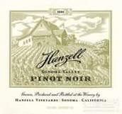 汉歇尔黑皮诺干红葡萄酒(Hanzell Vineyards Pinot Noir,Sonoma Valley,USA)