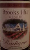 布鲁克斯山雷帝恩斯半甜红葡萄酒(Brooks Hill Winery Radiance, Kentucky, USA)