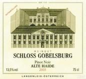 Schloss Gobelsburg Alte Haide Pinot Noir,Kamptal,Austria