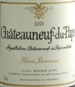 亨利·博诺酒庄干红葡萄酒(Henri Bonneau,Chateauneuf-du-Pape,France)