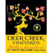 鹿溪贝拉的阳光混酿干白葡萄酒(Deer Creek Bella's Sunshine White Blend,Illinois Valley,USA)
