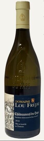 卢弗利亚教皇新堡干白葡萄酒(Domaine Lou Frejau Blanc,Chateauneuf du Pape,France)