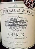 P.费罗父子干红葡萄酒(P. Ferraud & Fils, Chablis, France)