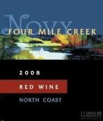 诺威家族四米谷干红葡萄酒(Novy Family Winery Four Mile Creek Red, California, USA)