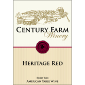 世纪农场传统甜型红葡萄酒(Century Farm Winery Heritage,Lake Erie,USA)