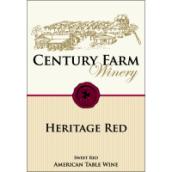 世纪农场传统甜型红葡萄酒(Century Farm Winery Heritage, Lake Erie, USA)