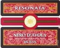 Resonata Nero d'Avola Sicilia IGT,Sicily,Italy