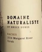 自然倡导酒庄拉齐斯系列西拉干红葡萄酒(Domaine Naturaliste Rachis Syrah,Margaret River,Australia)