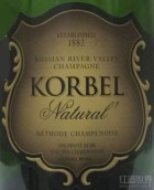 科贝尔天然起泡酒(Korbel Natural, Russian River Valley, USA)