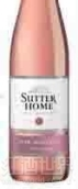 舒特家族粉红麝香干白葡萄酒(Sutter Home Bubbly Pink Moscato,California,USA)