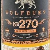 狼灼小批量系列270号苏格兰单一麦芽威士忌(Wolfburn Small Batch Release No.270 Single Malt Scotch ...)