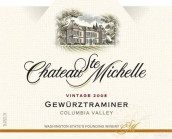 圣密夕琼瑶浆干白葡萄酒(Chateau Ste.Michelle Gewurztraminer,Columbia Valley,USA)