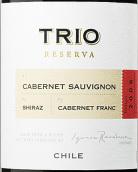 干露三重奏珍藏赤霞珠-设拉子-品丽珠干红葡萄酒(Concha y Toro Trio Reserva Cabernet Sauvignon-Shiraz-Cabernet Franc, Maipo Valley, Chile)