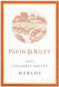 帕万赖利梅洛干红葡萄酒(Pavin&Riley Merlot,Columbia Valley,USA)