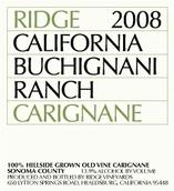 山脊佳丽酿干红葡萄酒(燕麦谷)(Ridge Carignan,Oat Valley,USA)